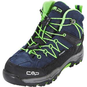 CMP Campagnolo Rigel Mid WP Trekking Shoes Barn black blue-gecko black blue-gecko