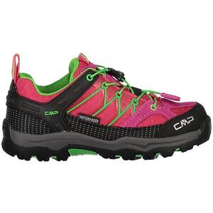 CMP Campagnolo Rigel Low WP Trekking Shoes Barn svart/röd svart/röd