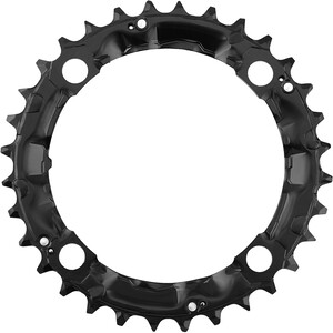 Shimano Deore FC-M480 Kettingblad, zwart zwart