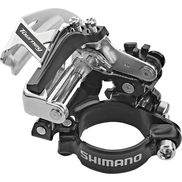 Shimano Tourney FD-TY710 Umwerfer Schelle Top Swing 63-66° 7/8-fach
