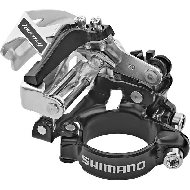 Shimano Tourney FD-TY710 Front Derailleur Klemme Top Swing 66-69° 7/8-delt
