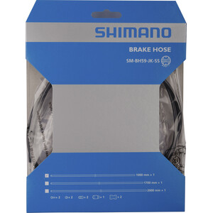 Shimano SM-BH59-JK Bremseslange Svart Svart
