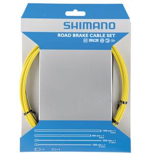 Shimano Road Bremszugset SIL-TEC beschichtet gelb gelb