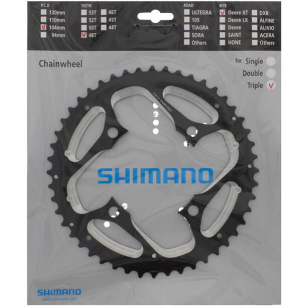 Shimano Deore XT Trekking FC-T780/FC-T781 Chainring 10-speed