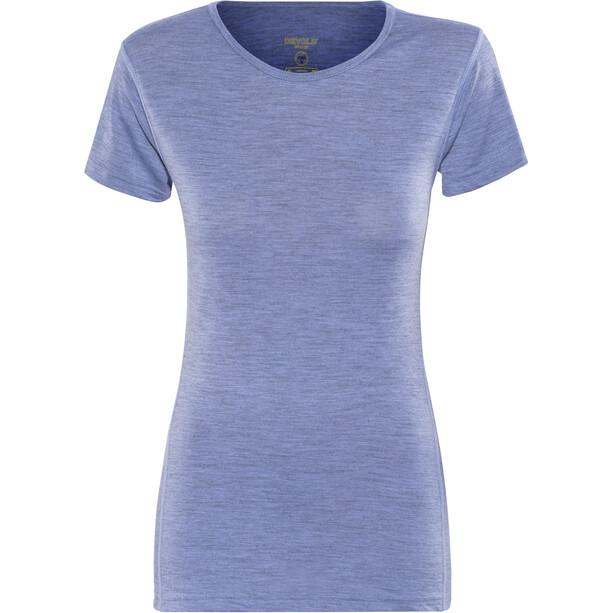 Devold Breeze T-shirt Dam blå