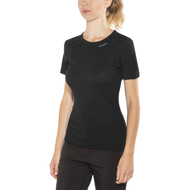Devold Hiking T-shirt Dam black