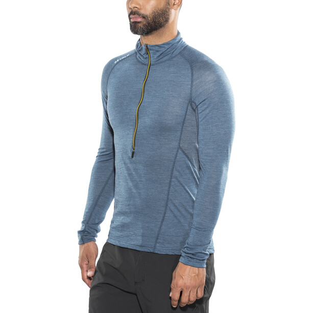 Devold Running Zip Neck LS Shirt Herr subsea