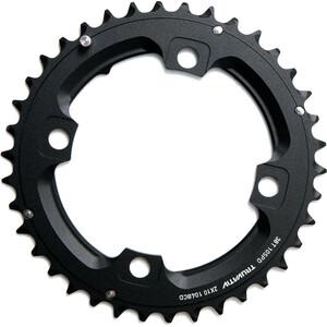 SRAM MTB Plateau 2x10 vitesses goupille longue, noir noir