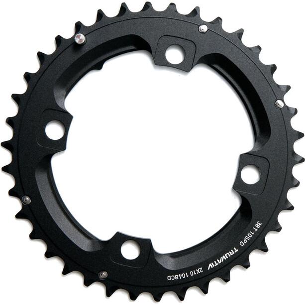 SRAM MTB Plateau 2x10 vitesses goupille longue, noir