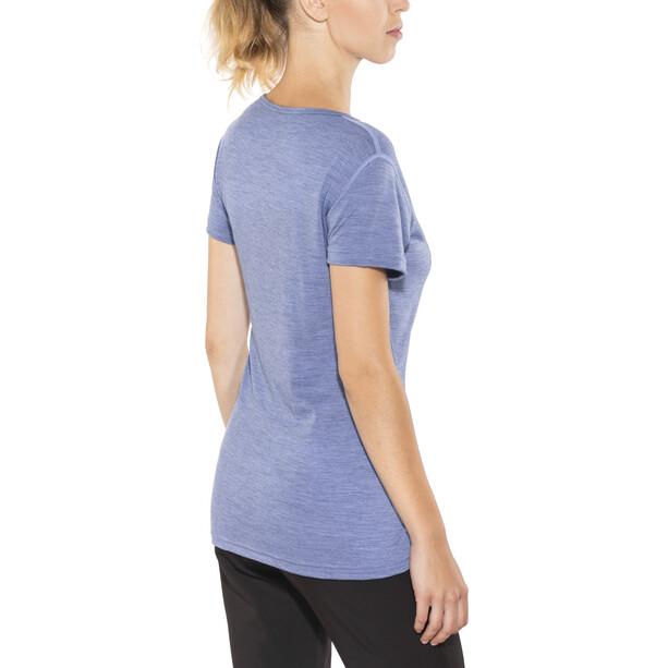 Devold Breeze T-Shirt Damen bluebell melange