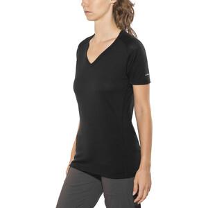 Devold Breeze V-Ausschnitt T-Shirt Damen black black