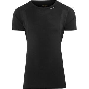 Devold Hiking T-paita Miehet, musta musta