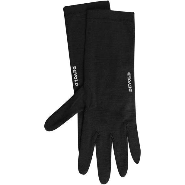 Devold Innerliner Handschuhe black