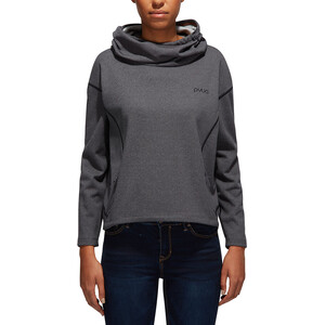 PYUA Tube S Kapuzensweater Damen grey melange grey melange