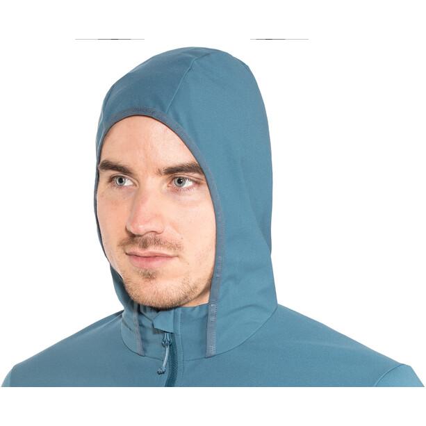 Maloja BacunM. takki Miehet, sininen/punainen