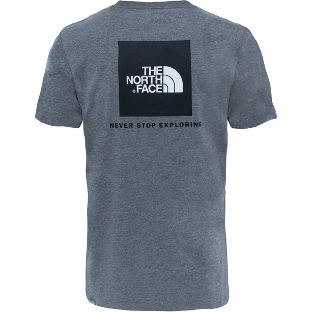 The North Face Redbox Kurzarm T-Shirt Herren tnf medium grey heather