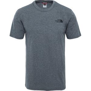 The North Face Simple Dome Kurzarm T-Shirt Herren grau grau