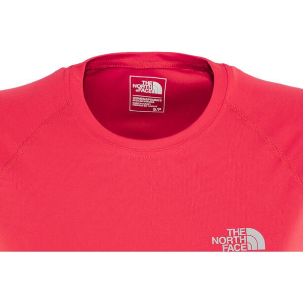 The North Face Flex Kurzarmshirt Damen juicy red