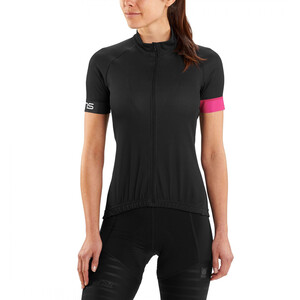 Skins Cycle Classic Kurzarm Trikot Damen black/magenta black/magenta