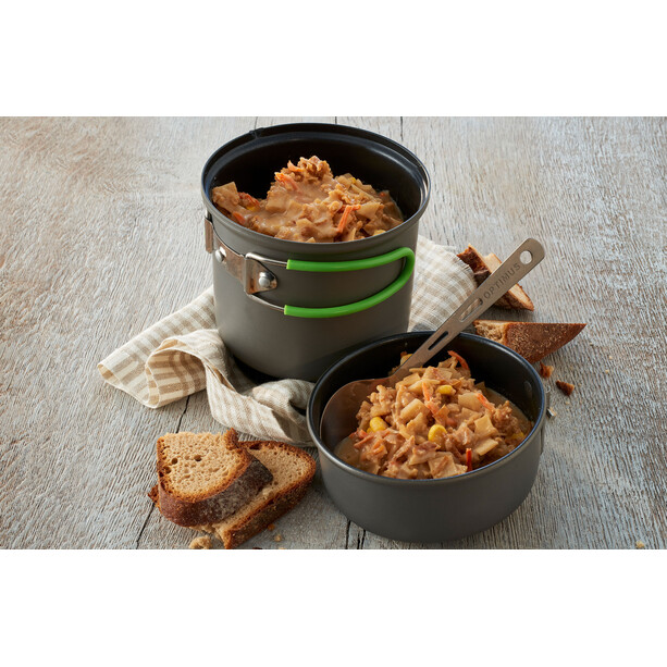 Trek'n Eat Outdoor Mahlzeit Vegetarisch Kartoffeltopf mit Röstzwiebeln