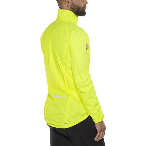 Castelli Emergency Jacke Herren yellow fluo