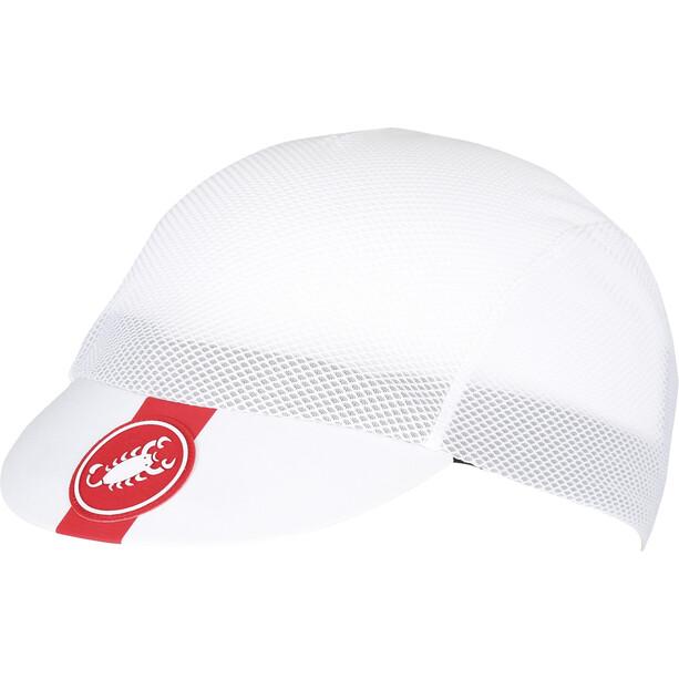 Castelli A/C Cycling Casquette, blanc
