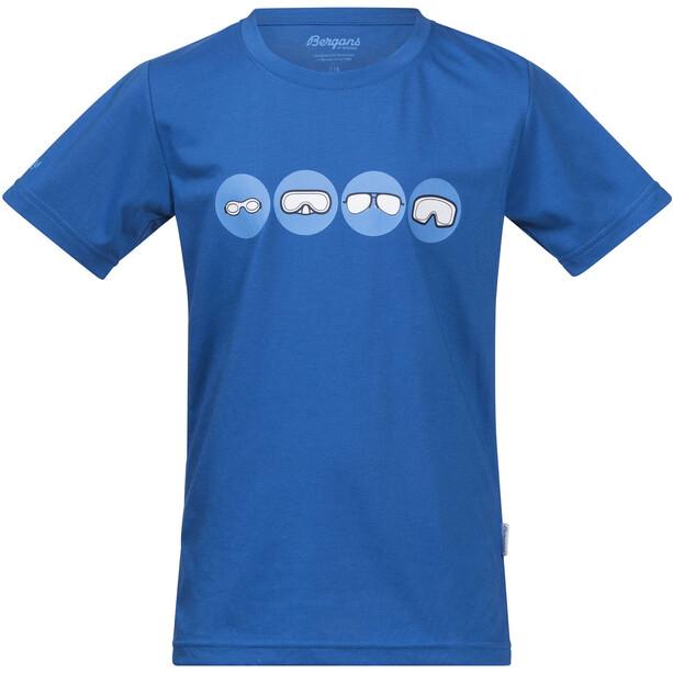 Bergans Goggles T-shirt Enfant, bleu