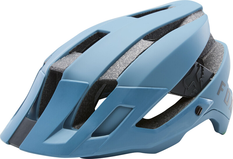 Fox Flux Helmet Men slate blue L/XL   59-63cm 2018 Fahrradhelme