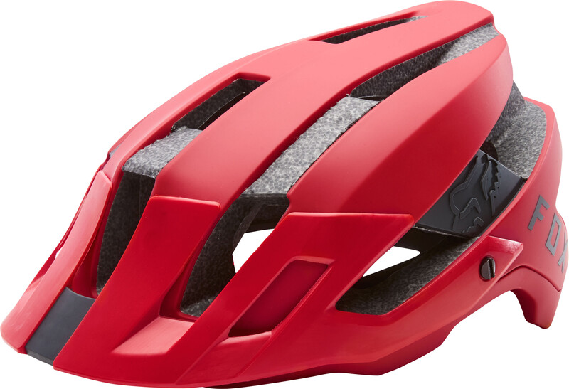 Fox Flux Helmet Men bright red XS/S   52-55cm 2018 Fahrradhelme