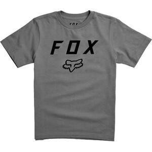 Fox Legacy Moth Kurzarm T-Shirt Jugend heather graphite heather graphite
