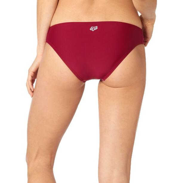 Fox Rodka Lace Up Bikini Unterteil Damen dark red