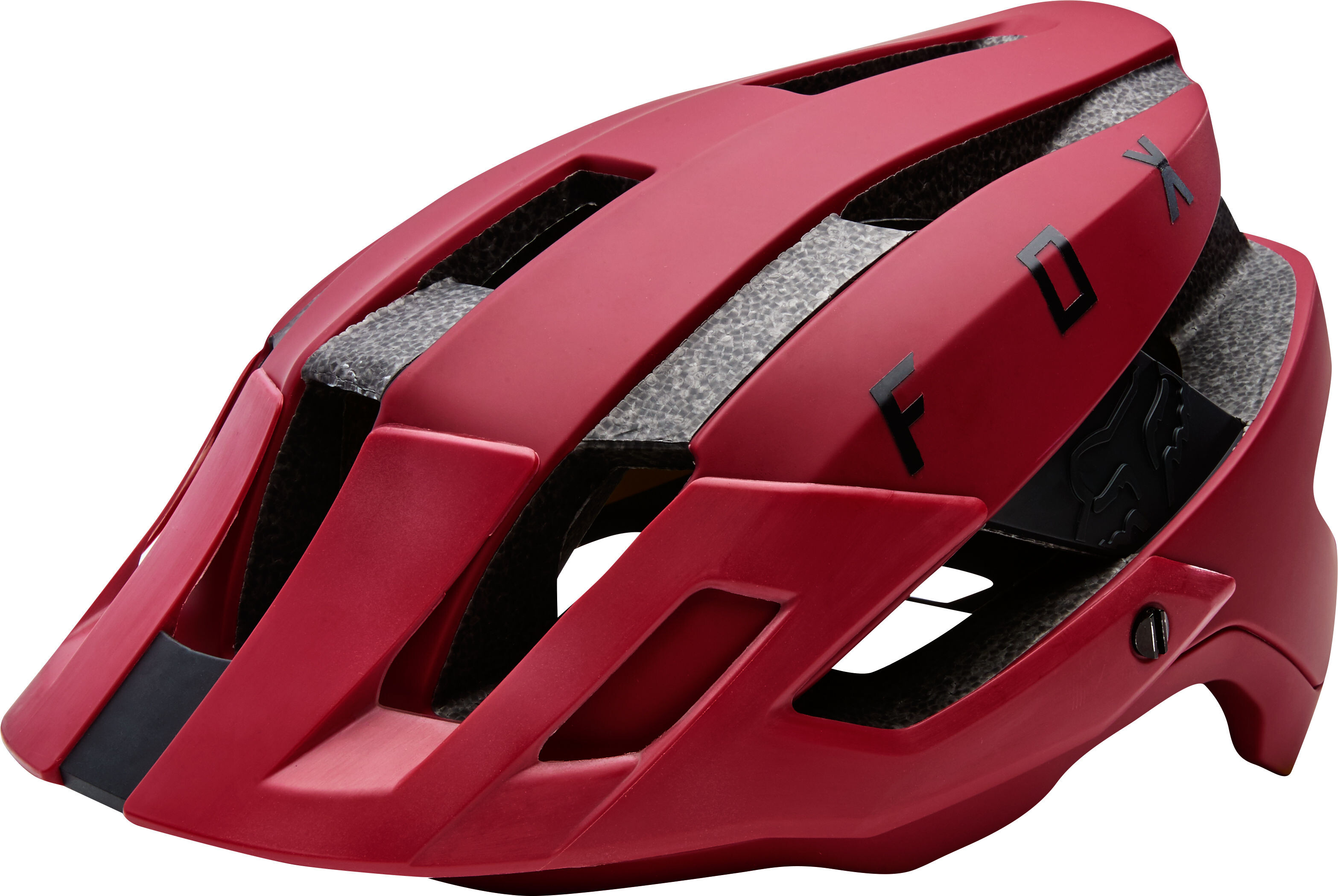 fox flux bike helmet men red at. Black Bedroom Furniture Sets. Home Design Ideas