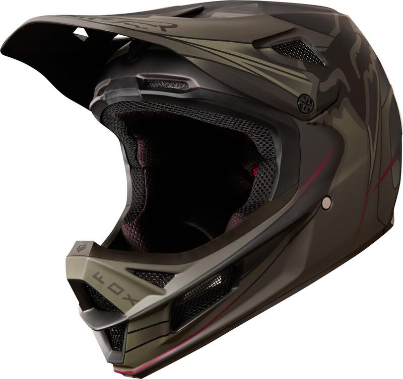 Fox Rampage Pro Carbon Kustom Helmet Men fatigue/black XXL   63-64 cm 2018 Fahrradhelme