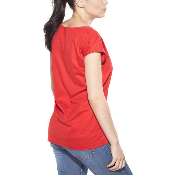 Elkline Freilich T-Shirt Damen truered