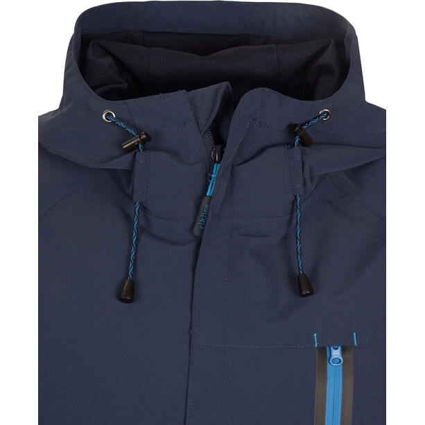 Elkline Outside Veste imperméable Homme, blueshadow
