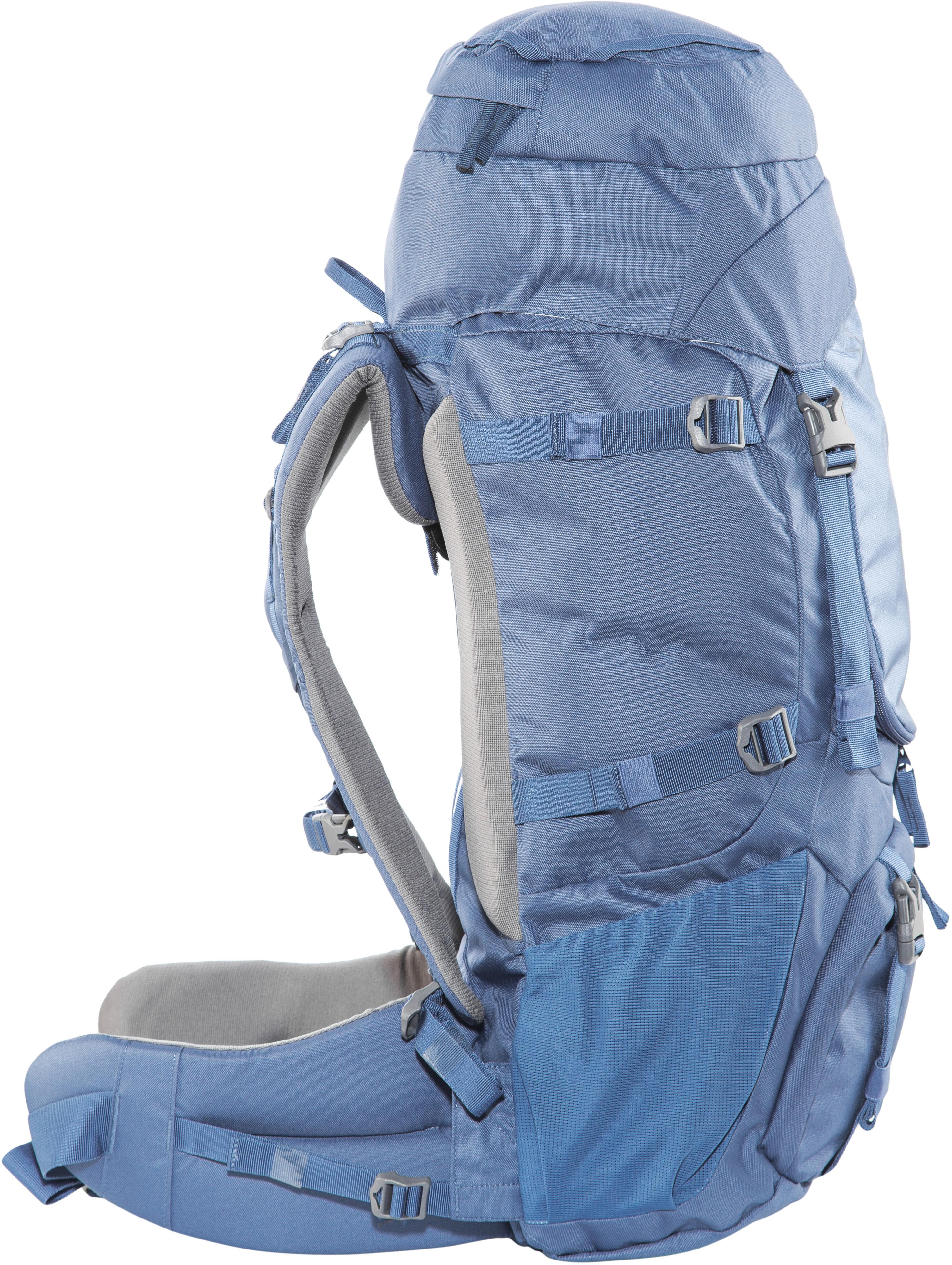 nomad batura sac dos femme 55l bleu sur. Black Bedroom Furniture Sets. Home Design Ideas