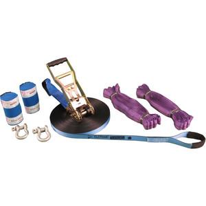 Elephant Slacklines Wing-Set Slacklines 25m, bleu/violet bleu/violet