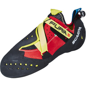 Scarpa Furia S Kletterschuhe parrot/yellow parrot/yellow