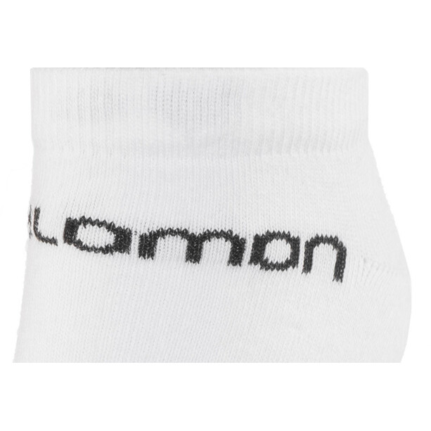 Salomon Festival Socken 2 Pack white/black