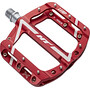 HT ANS08LEAP Nano Flat Pedals red