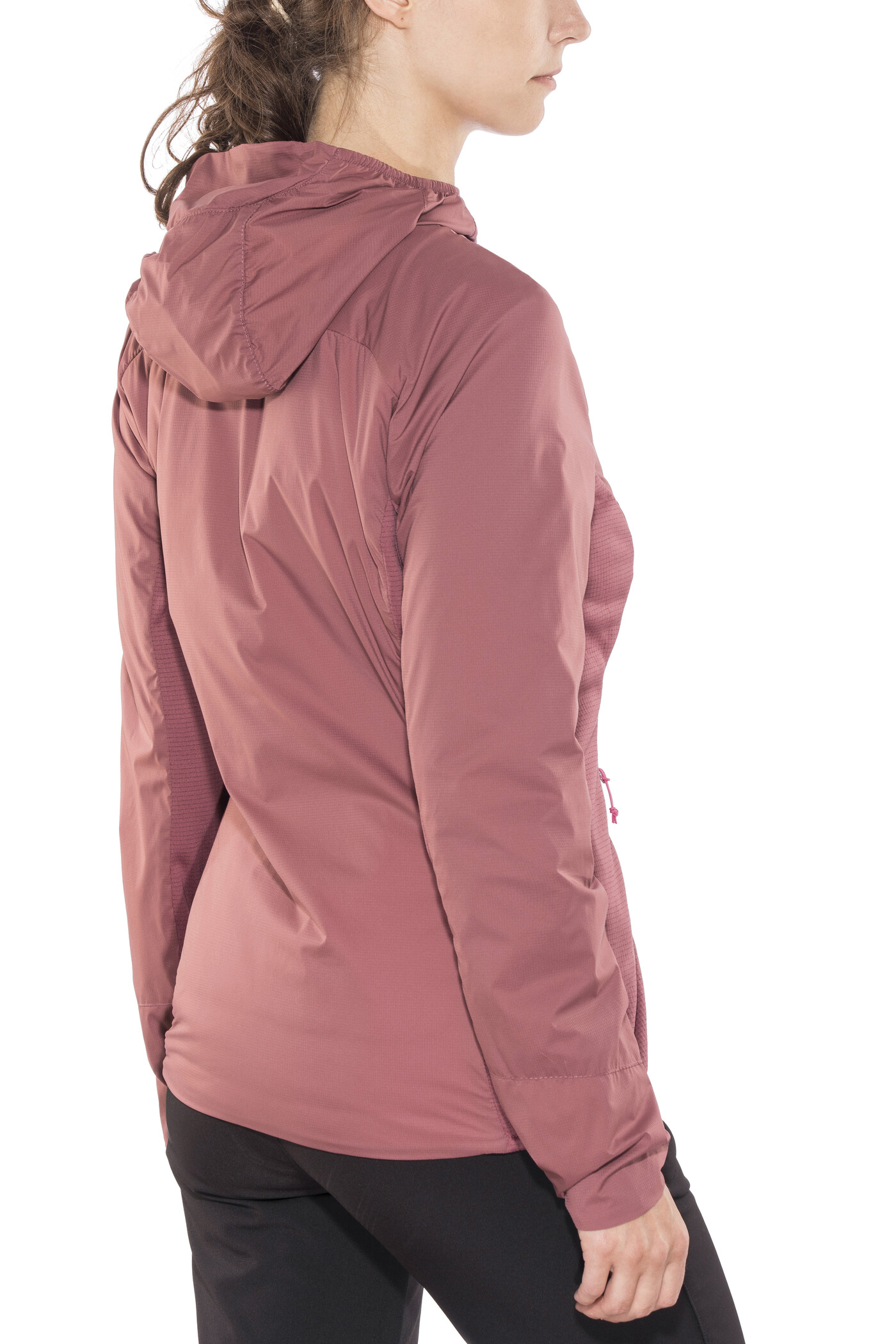 Schöffel Agadir1 Hybrid Jacke Damen roan rouge |