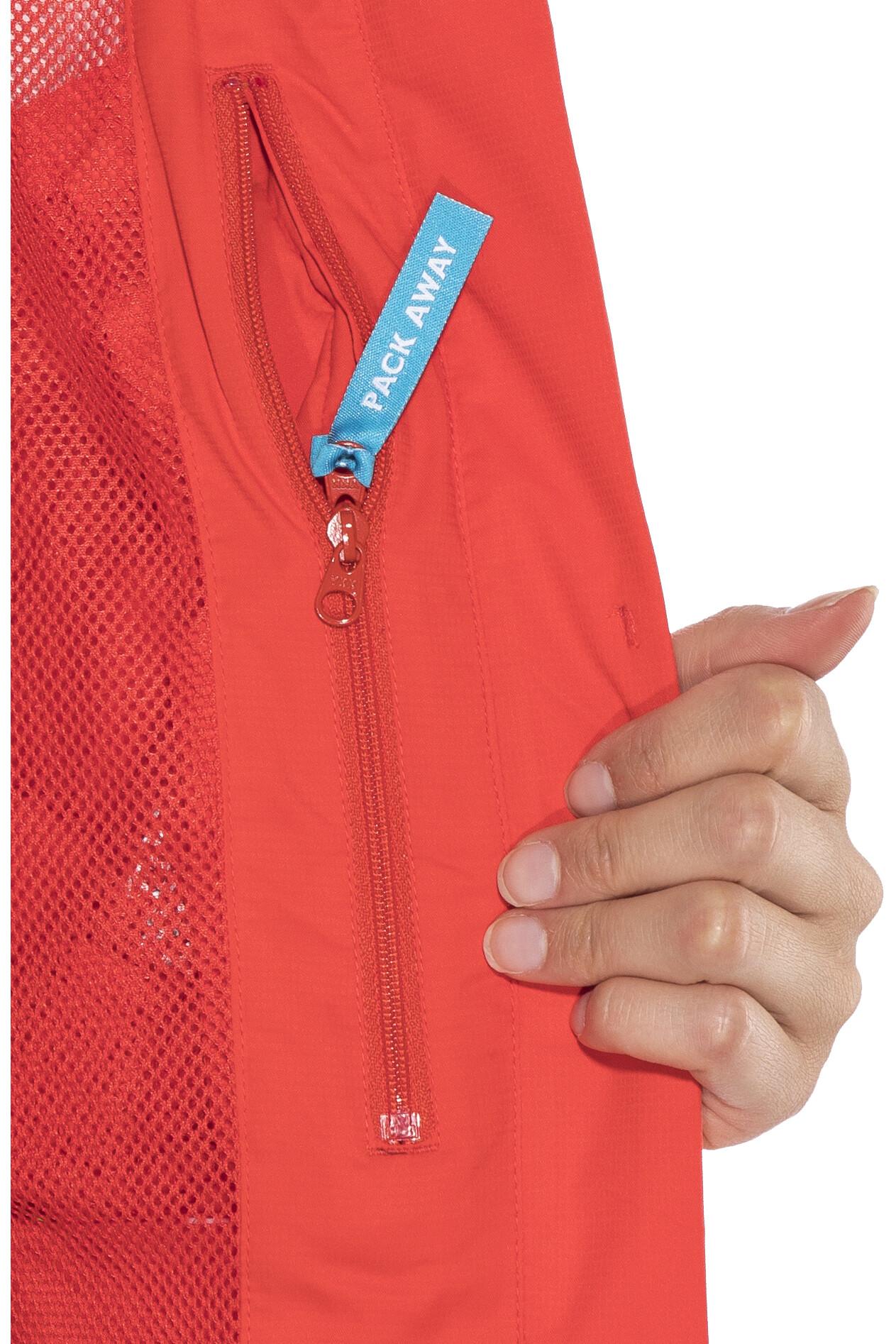 sch ffel easy l 3 veste femme rouge sur campz. Black Bedroom Furniture Sets. Home Design Ideas