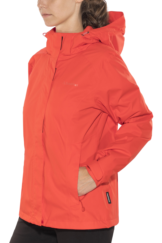 sch ffel easy l 3 jacket women red at. Black Bedroom Furniture Sets. Home Design Ideas