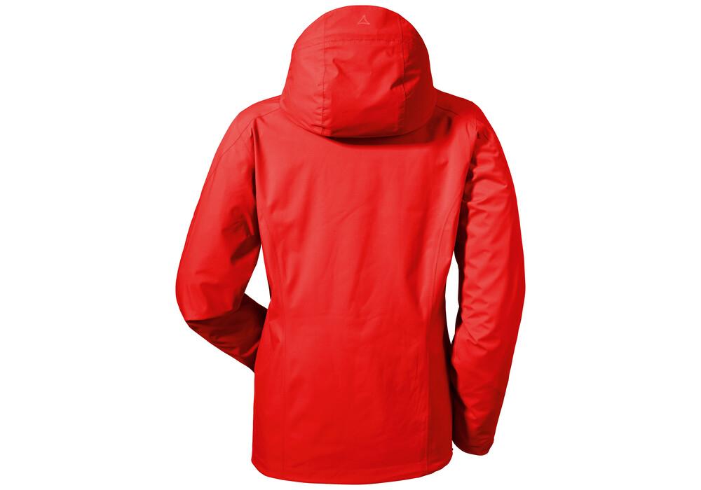 sch ffel easy l 3 jacket women fiery red. Black Bedroom Furniture Sets. Home Design Ideas
