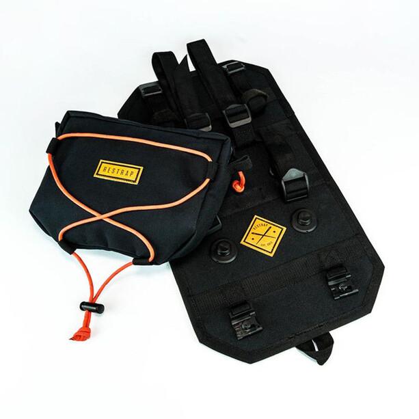 Restrap Bar Bag Holster mit Vorratsbeutel black