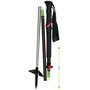 Komperdell Carbon Expedition Tour 4 Compact Sauvat, black/red