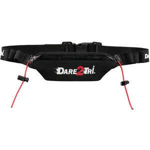 Dare2Tri Pocket Racebelt schwarz schwarz