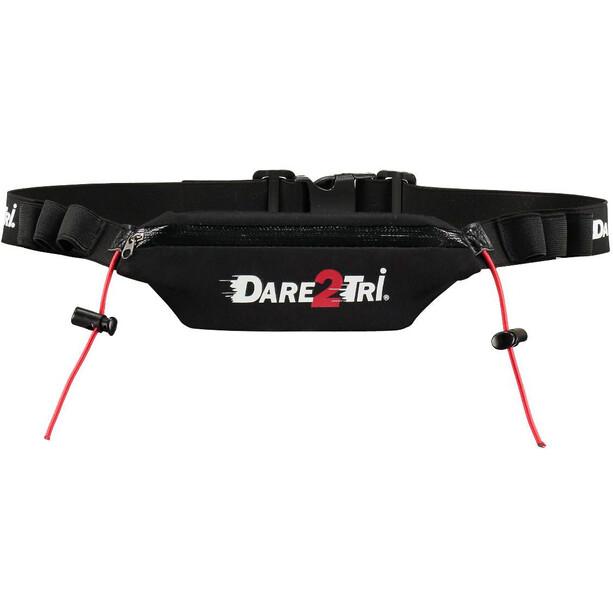 Dare2Tri Pocket Racebelt schwarz
