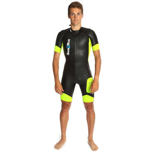 Dare2Tri Swim&Run Go Wetsuit Herren black/yellow black/yellow