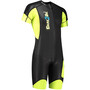 Dare2Tri Swim&Run Go Wetsuit Herren black/yellow